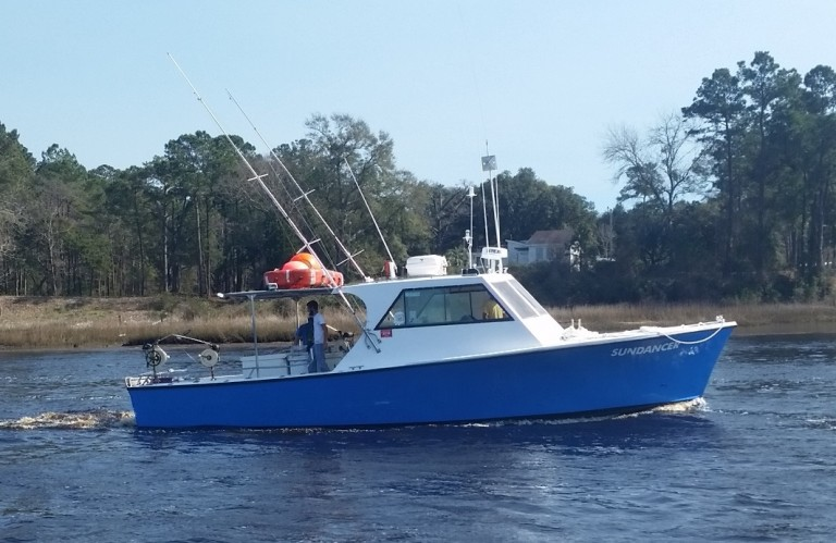 This Vessel Carries Up To 16 Fishermen And 2 Riders For Our Specialty Fishing Adventures Bottom Sport Gulf Stream Trips