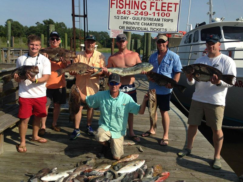 Myrtle beach fishing charter fishing trips myrtle beach for Little river fishing charters