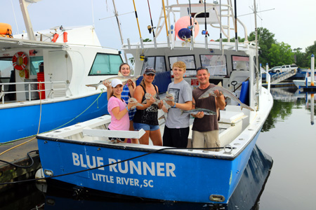 Myrtle beach fishing charters head boat or charter for Shark fishing myrtle beach
